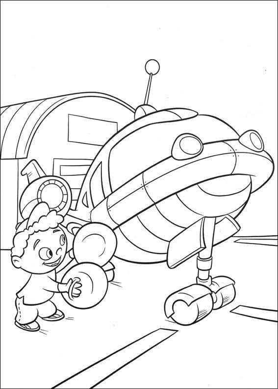 Dibujos para Colorear Mini Einsteins 14 | Dibujos para colorear para ...