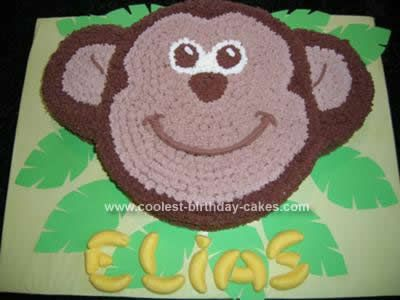 Coolest Monkey Birthday Cake Design Monkey birthday cakes