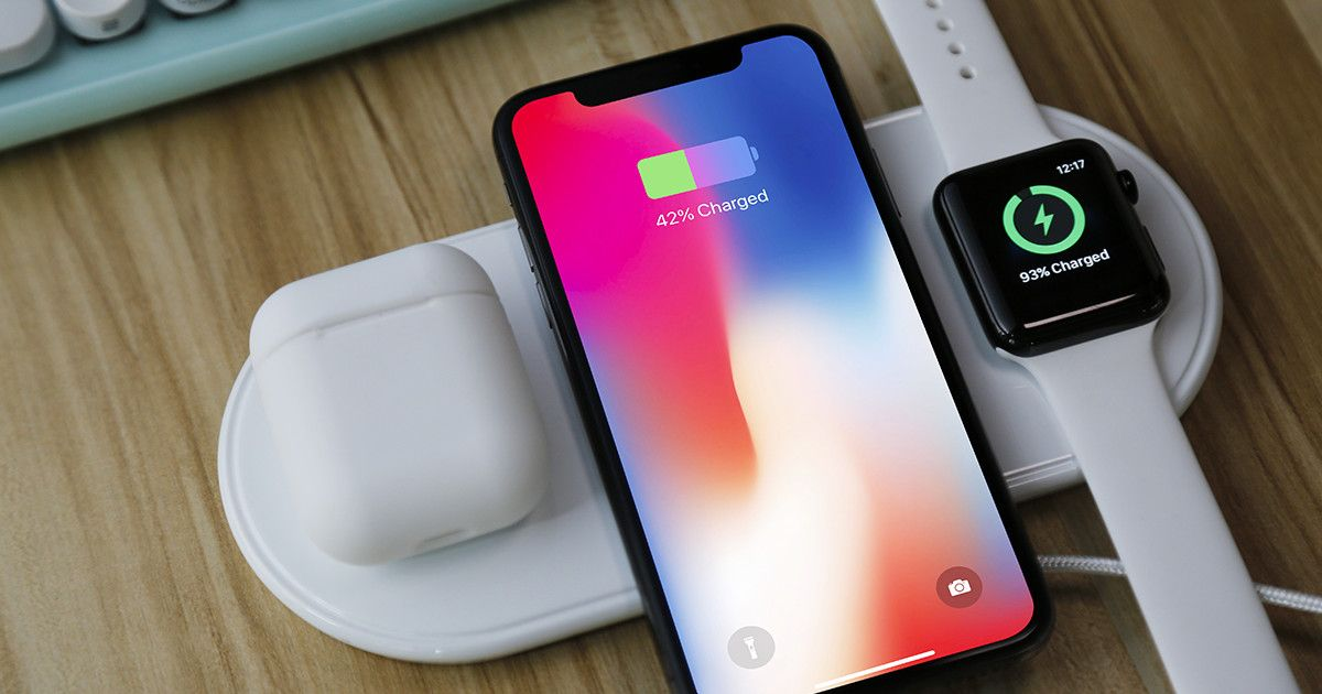 The Best Wireless Fast Charger For Your Iphone 8 X Apple Watch And Airpods Check Out Plux Charge Your New Apple Devices Simulta Apple Devices Apple Watch
