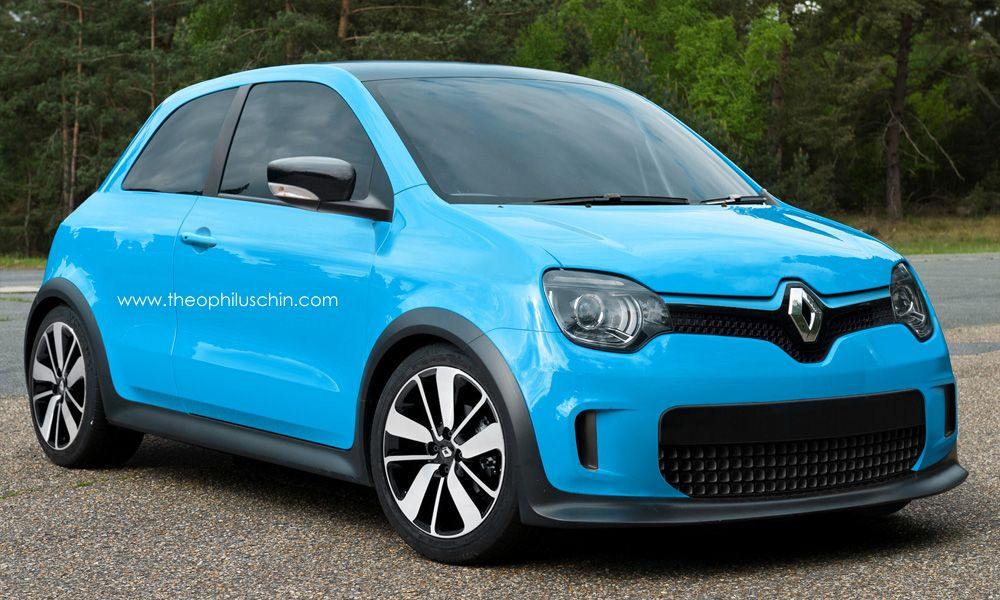 New Renault Twingo Rendered But Could It Be The 5 Reborn