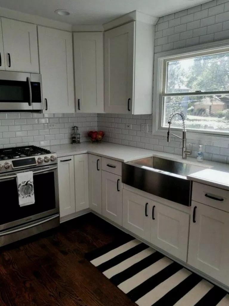36+ pretty white kitchen design and decor ideas for ...