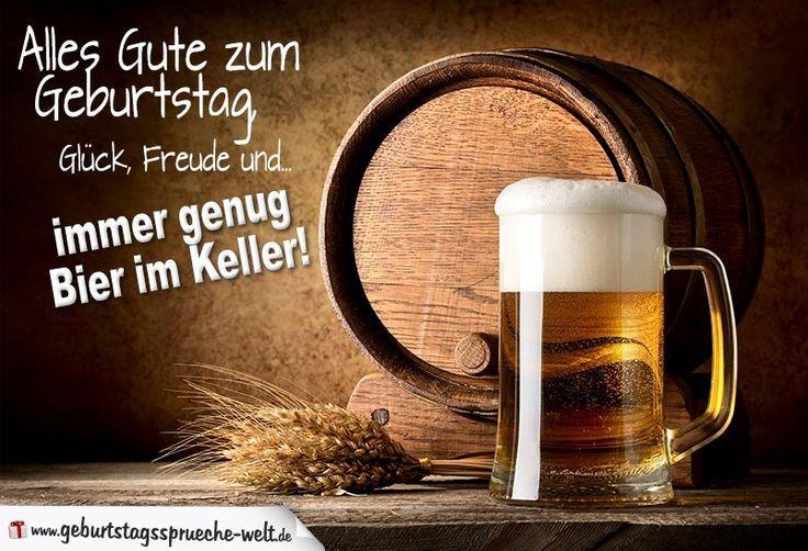 Geburtstag Spruche Bier Bier Lustig Alles Gute Geburtstag