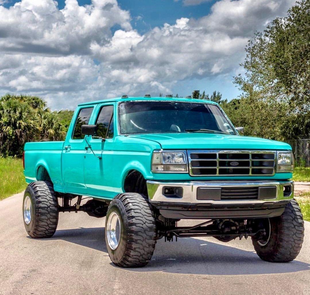 Obs Ford F350 Crew Cab 4x4 F250 F350 Powerstoke Superduty 6 0 Diesel 6 4 Diesel 6 7 Diesel Ford Trucks Lifted Ford Trucks Trucks