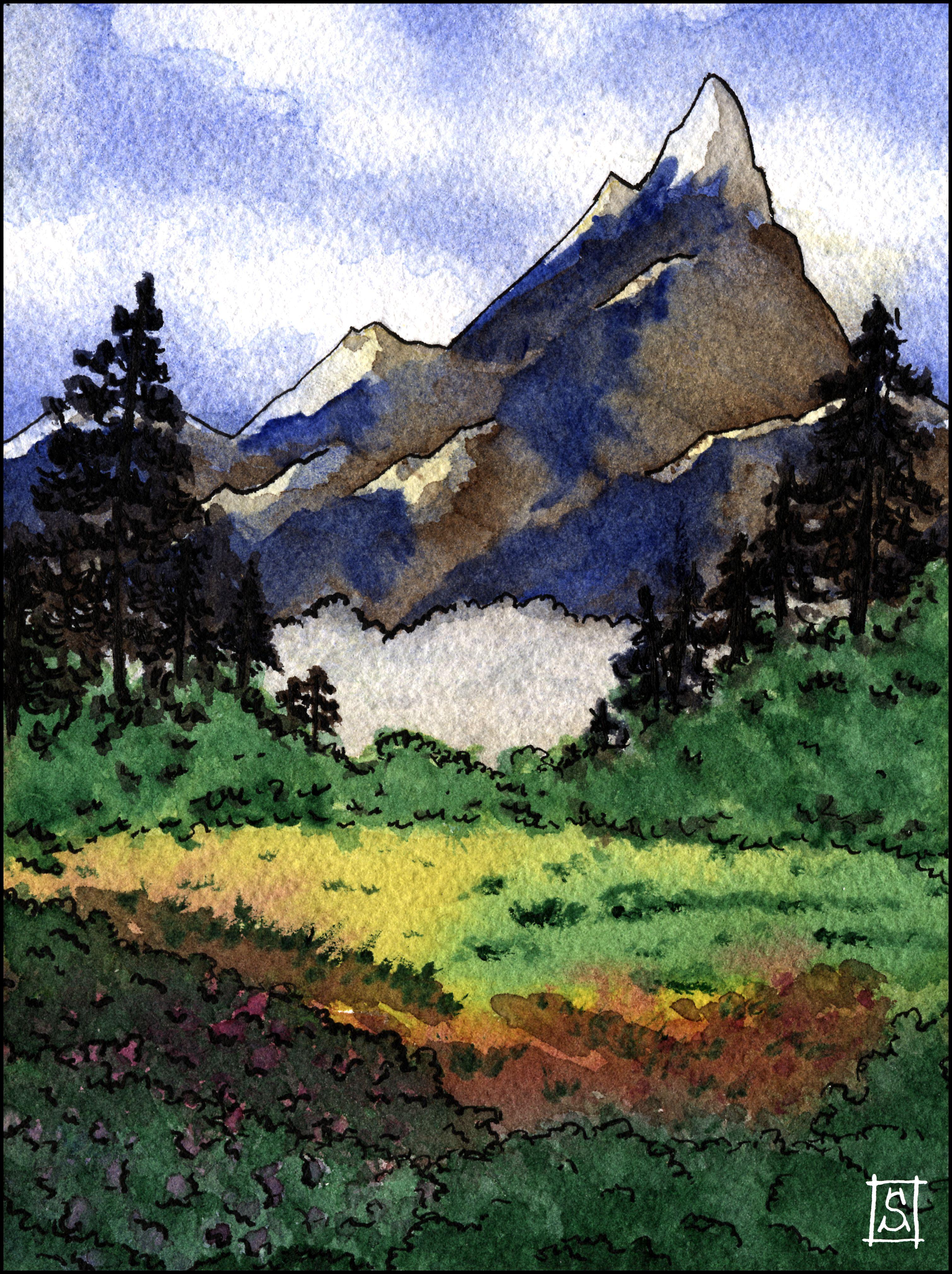 Paysage De Montagne 01 Mountain View 01 Paysage Montagne Paysage Chine Paysage