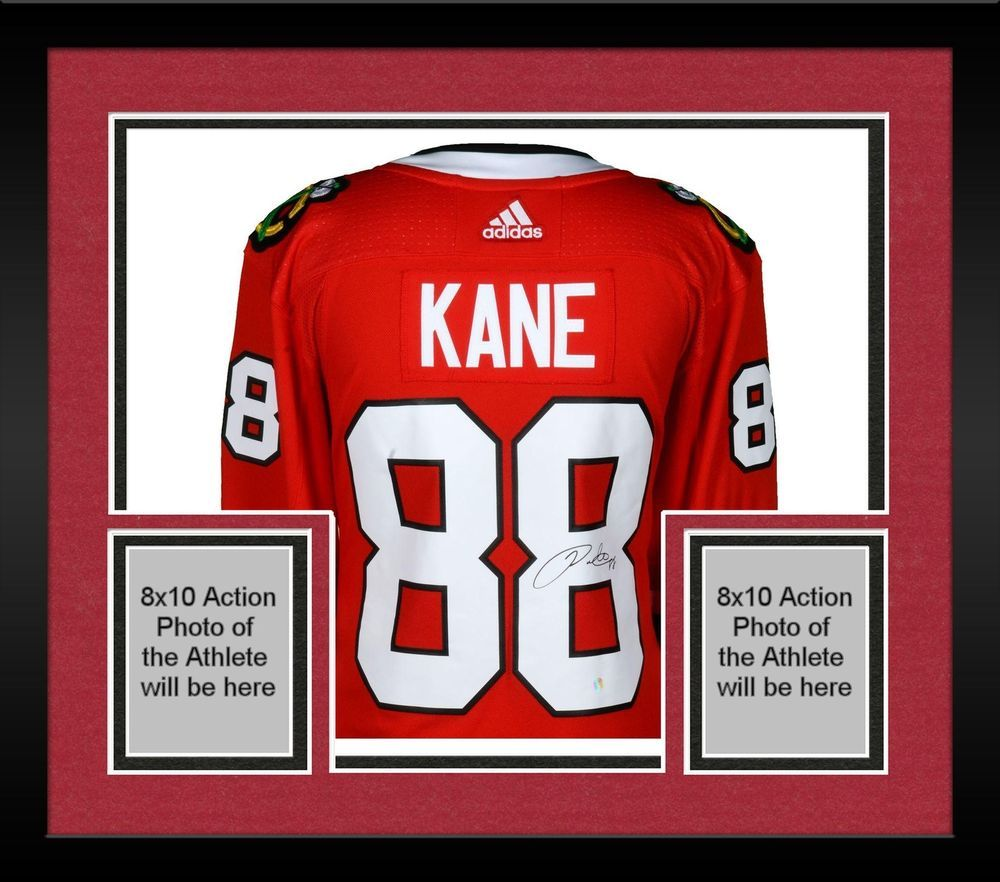 wholesale dealer 51b0c 0af82 Framed Patrick Kane Chicago Blackhawks Autographed Red ...