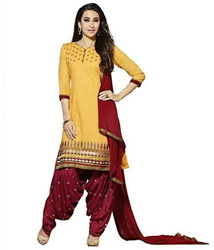 f39f2826fb chakudee by yellow and maroon cotton patiyala suit, Patiala Suits,Salwar  Kameez,Salwar Suits,Designer Suits,Dress material,Embroidery Suits,Heavy  Salwar ...