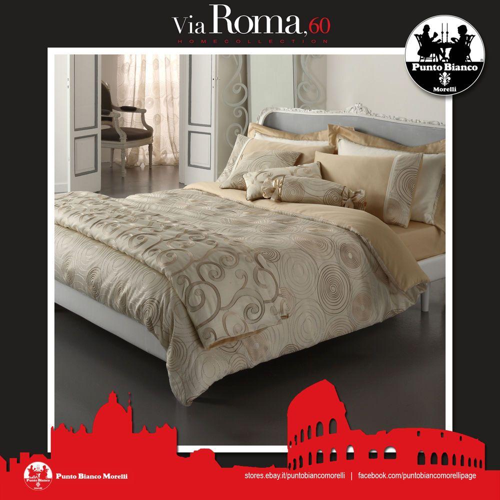 Copripiumino Via Roma 60.Via Roma 60 Agamennone Completo Copripiumino Full Duvet Cover