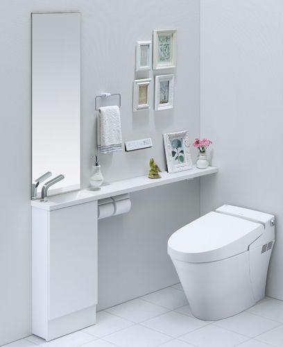Lixil トイレ トイレ手洗い キャパシア 施工イメージ 0 5坪 手洗器一体型4 Lixil トイレ トイレ インテリア トイレ