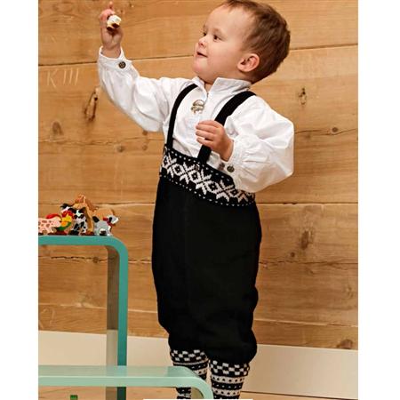 c10539eb Enkeltmønster festdrakt nr. 9 | Strikke bunader | Baby, Strikk og ...