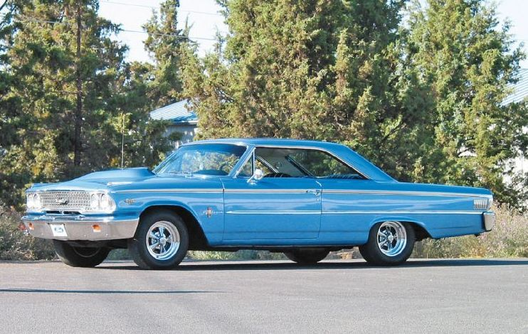 Ford Galaxie 1963 Ford Galaxie Vintage Muscle Cars Ford Classic Cars