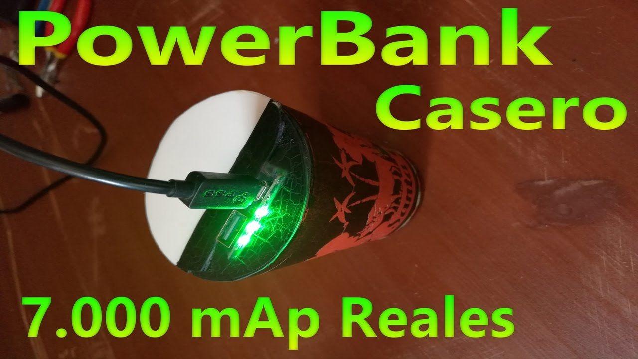 Cargador Portatil Casero Potente Powerbank Cargador Portátil Cargador Portatil Para Celular Cargador