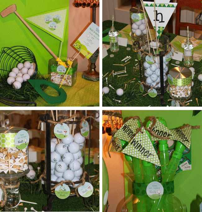 Golf Themed Party Decorating Ideas Part - 31: Golf Party
