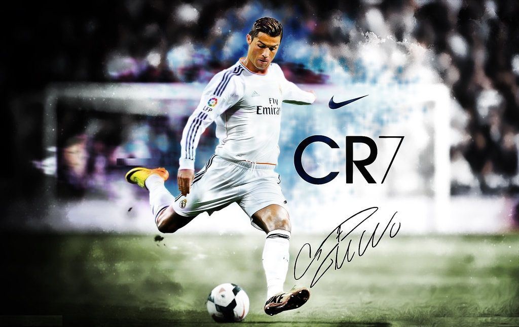 Art Of Cristiano Ronaldo Fans Wallpaper Sport Soccer: Cristiano Ronaldo RMA HD Wallpaper For Desktop, Ipad