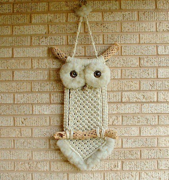 macrame owl necklace instructions