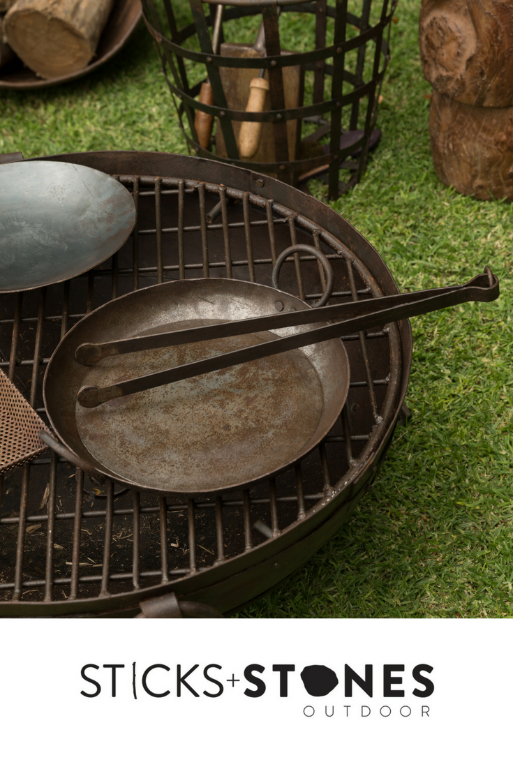 Our Kadai Accessories Are Perfect To Complete Your Fire Pit