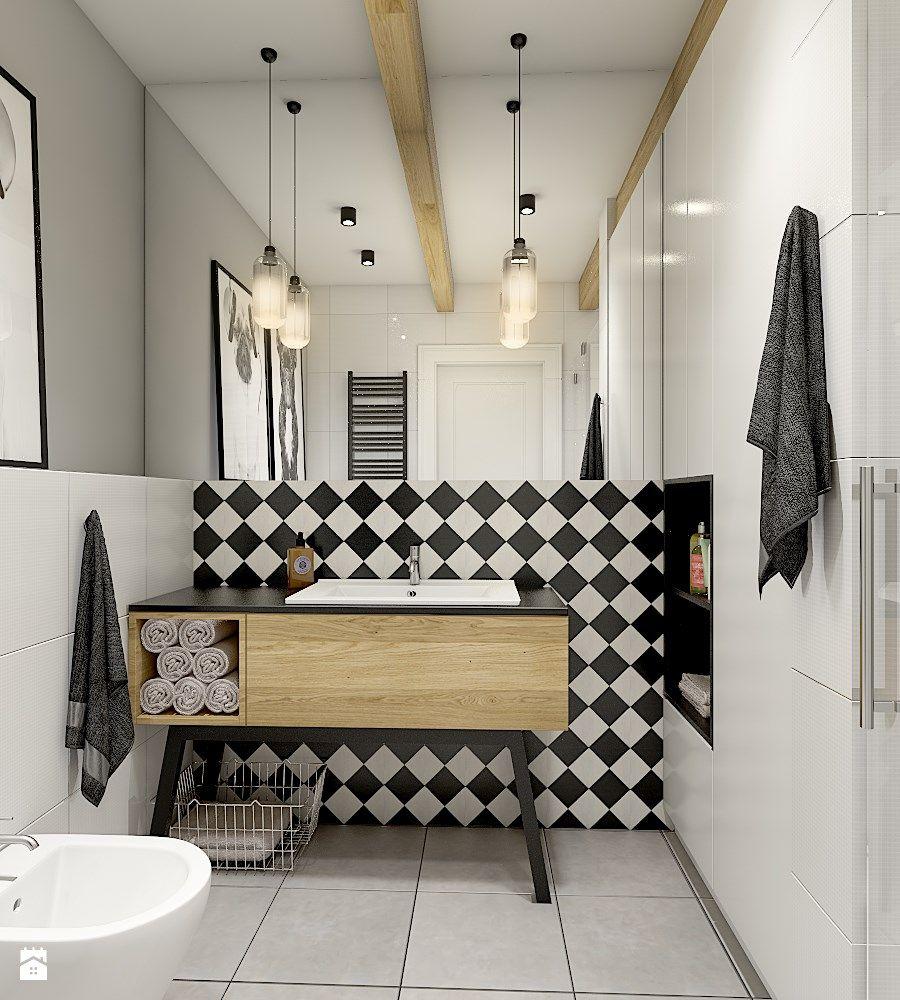 Aranżacje Wnętrz łazienka łazienka Styl Eklektyczny