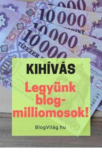 Pénzkeresés bloggal   A bloggerek kapnak pénzt? - Honlapra Fel!