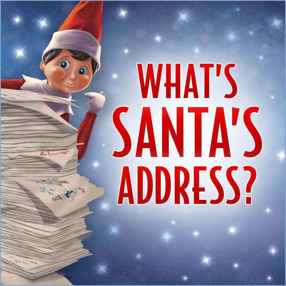What is Santa's Address? Santa address, Santas address
