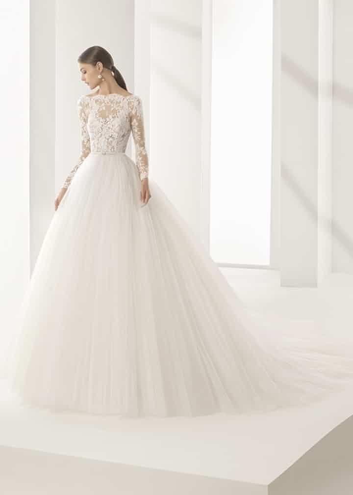Costo de vestidos de novia rosa clara