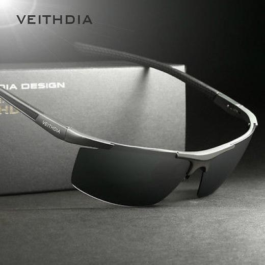 f0aa0361be Veithdia New Men s Aluminum Polarized Sunglasses Square Eyewear Driving Glasses  Sport 6588 Black Blue 100%