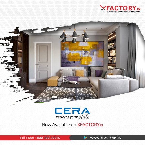 Buy all Cera products at XFACTORY.IN at the Best Prices.