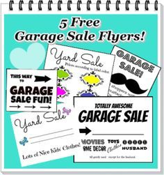 Free Printable Garage Sale Signs Flyers Flyer
