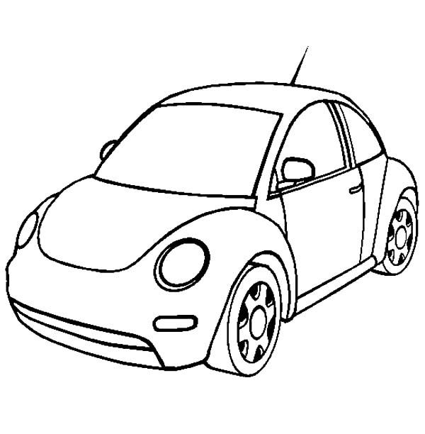 New Volkswagen Beetle Car Coloring Pages Best Place To Color Volkswagen Beetle Cars Coloring Pages Beetle Car
