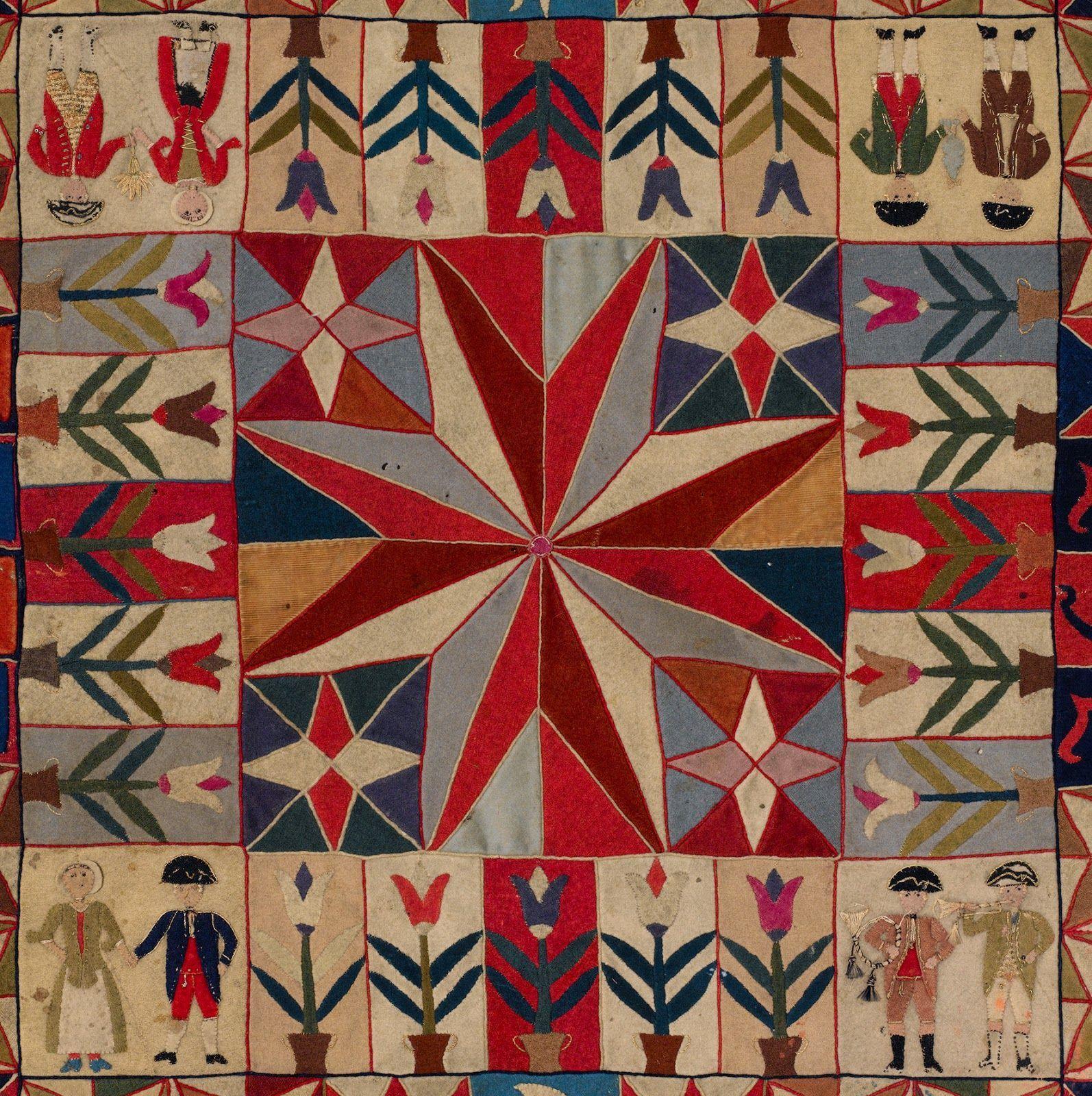 Quilt Study Groups: War Quilts Exhibition at Manly 3 July to 22 November 2015 - Quilt australien comprenant tant de similitudes avec le coverlet anglais de 1718 !