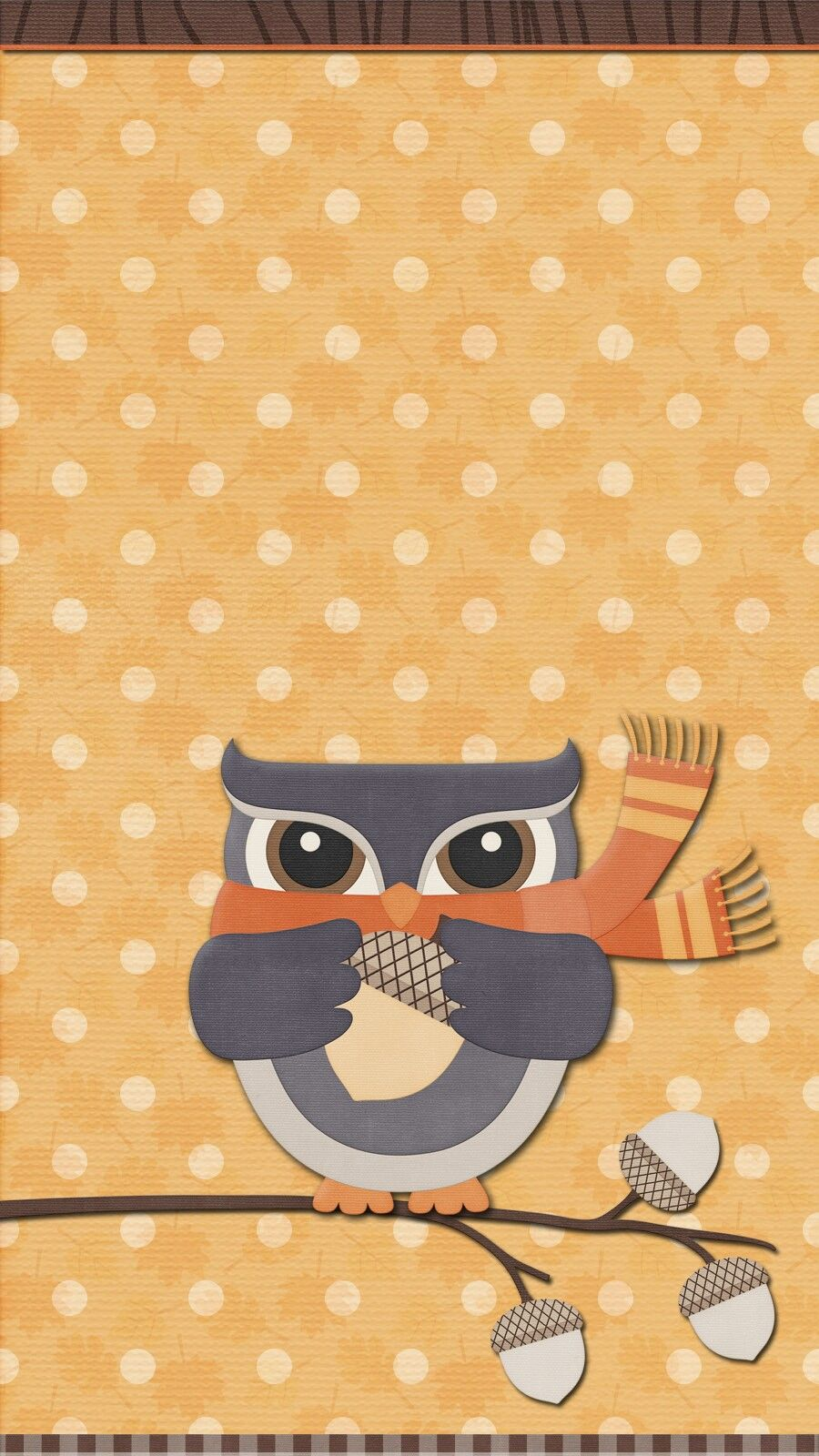 Autumn Wallpaper Iphone Android Theme Cute Owl Wallpaper Iphone Wallpaper Fall Thanksgiving Wallpaper