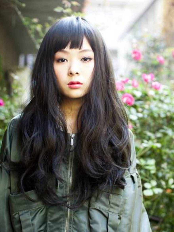 Black Long Japanese Hairstyles Japanese Hairstyle Long Hair Styles Hair Styles