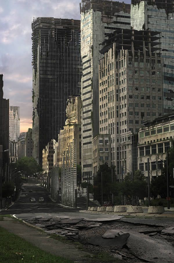 Create an Apocalyptic City Street in Photoshop - Envato ...