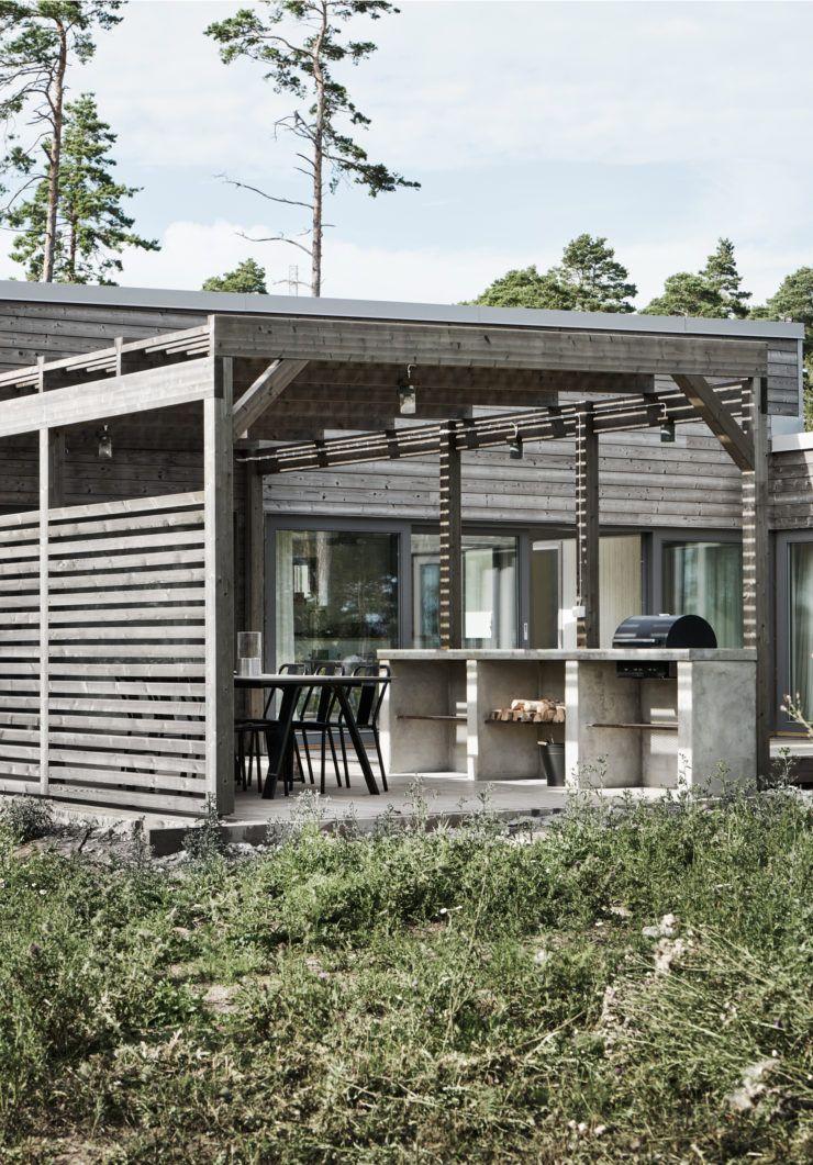 Maison de mer versus Suède par M-arkitektur
