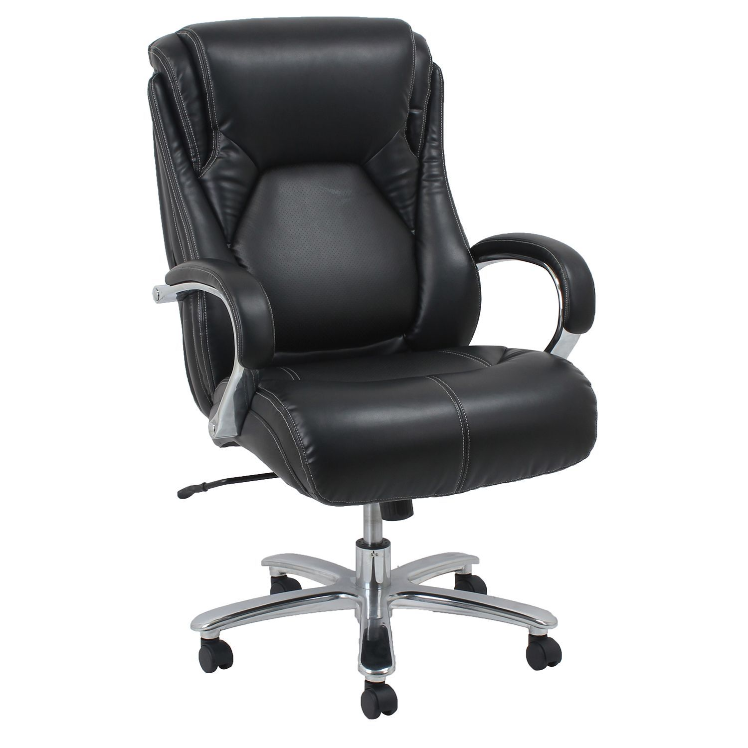 Barcalounger Big Tall Executive Office Chair Black Supports Up