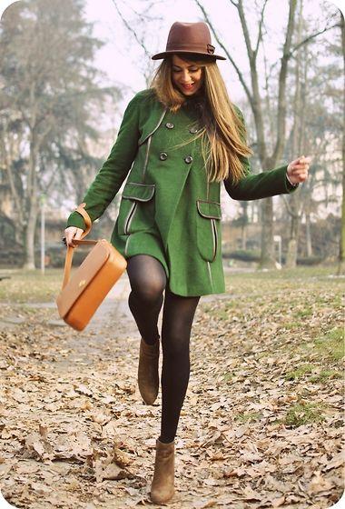 mooiste groen jassie!