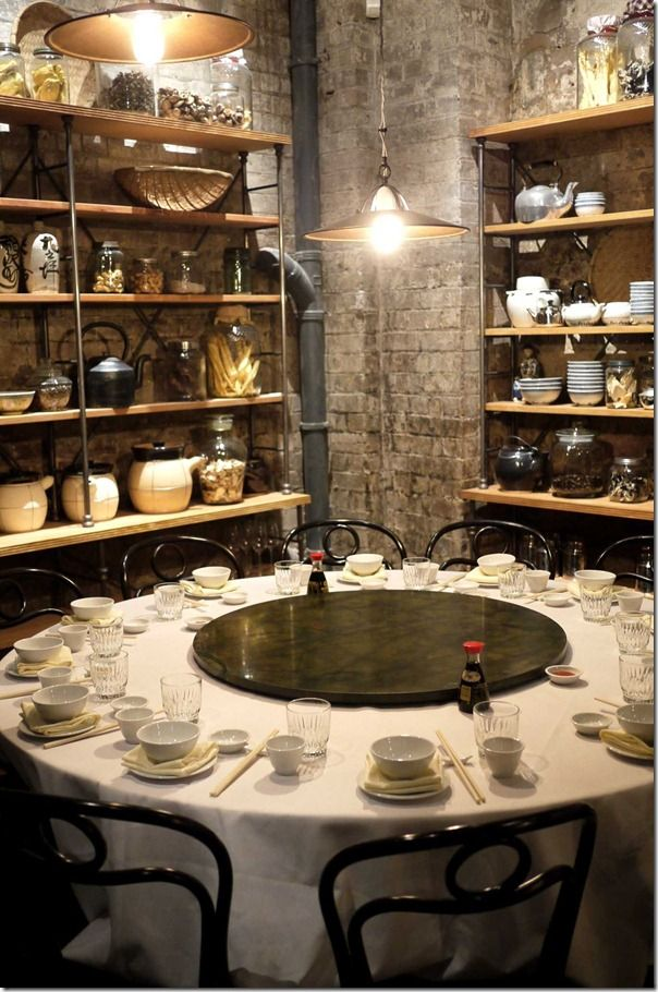Dining Area, Mr. Wong, Modern Chinese Restaurant, Sydney