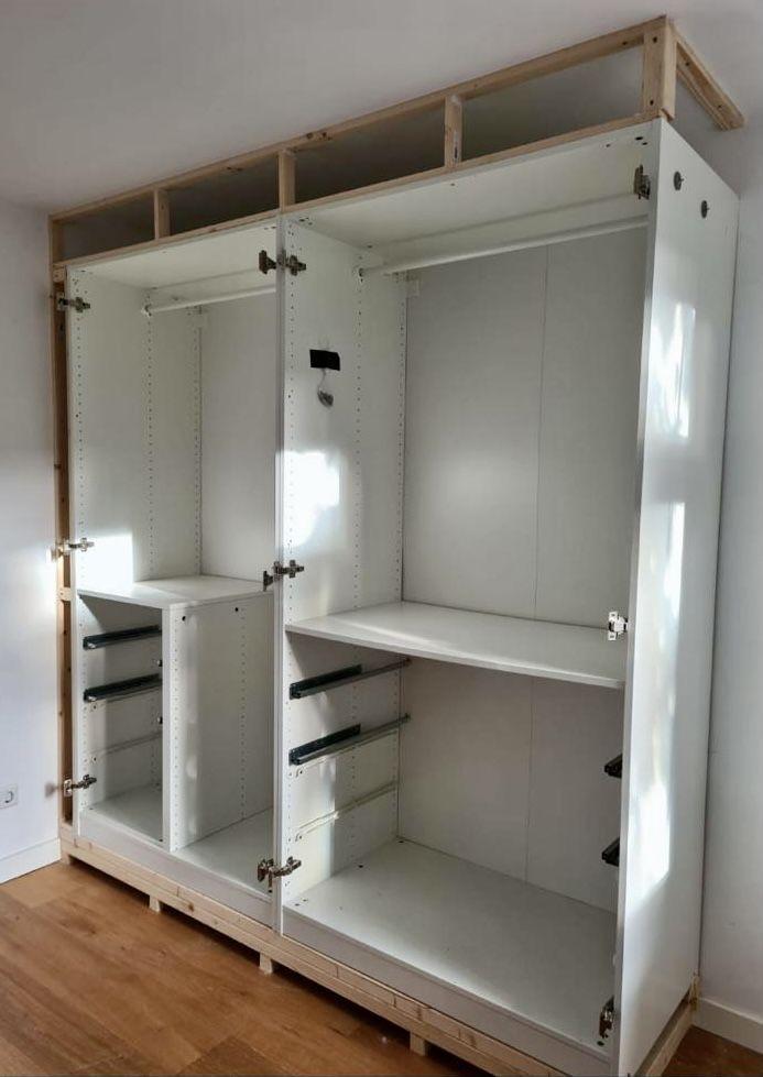 Een inloopkast op maat voor een Ikeaprijs