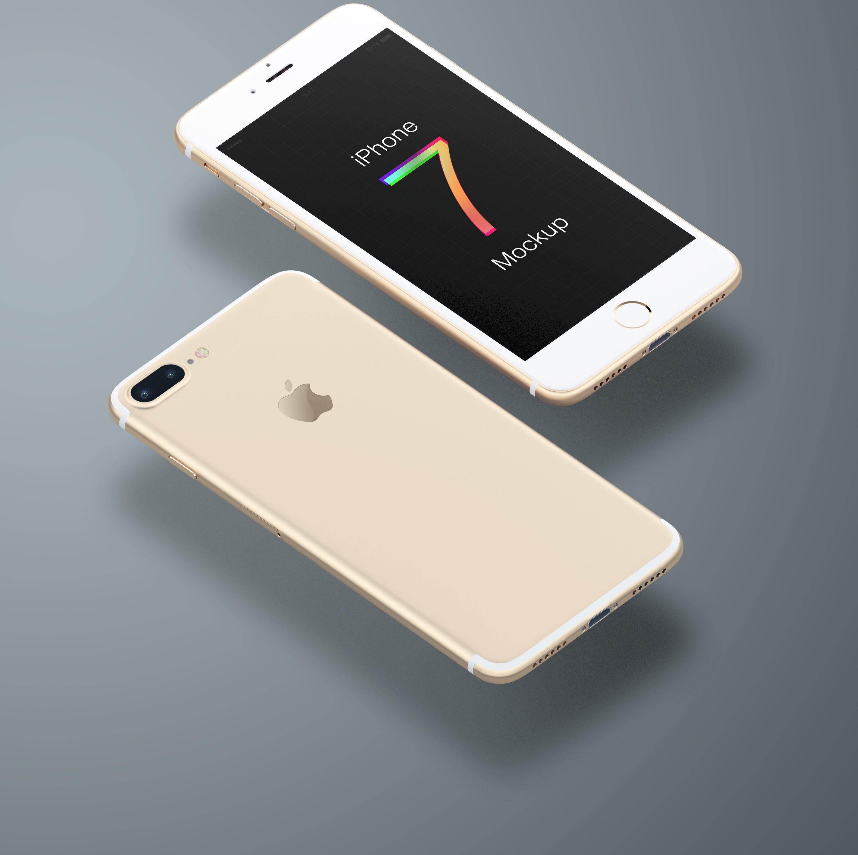 iPhone 7 Mockup Mockups Freebies Free iphone, Mockup