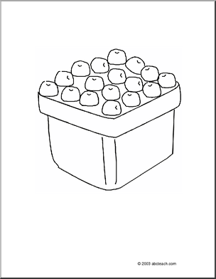 BLUEBERRIES FOR SAL--Coloring Page: Blueberries. My older children ...