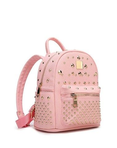 4f81b6cc4e3 Check the details and price of this Pink School Bags Backpacks for College  Girls (Pink, SVMONO) and buy it online. VIPme.com offers high-quality  Backpacks ...