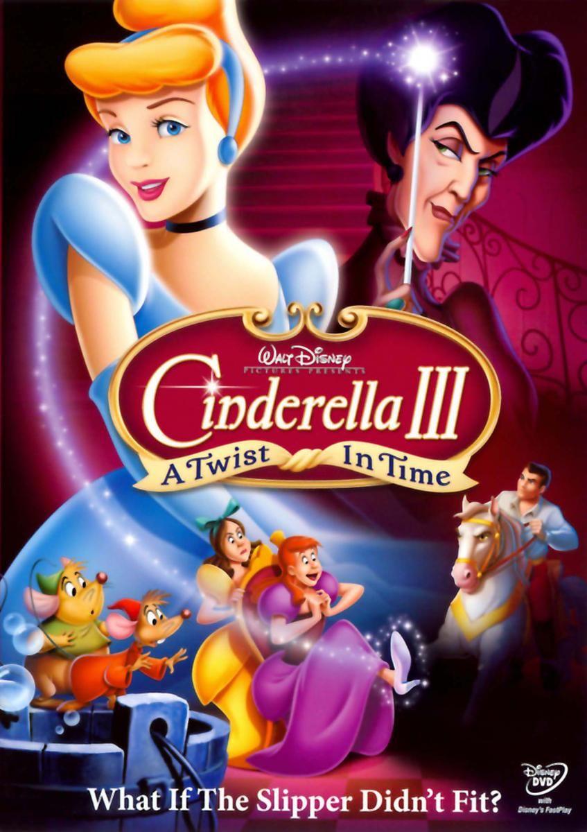 Cinderella Iii A Twist In Time 2007 Peliculas De Disney Peliculas Infantiles De Disney Peliculas Clasicas De Disney