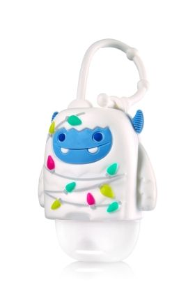 Snow Monster Light Up Pocketbac Holder Bath Body Works