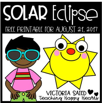 graphic regarding Printable Solar Eclipse Glasses called Sunlight Eclipse 2017 Totally free Printable Higher education - Science Sunlight