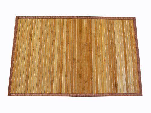 Bambusmatte Badezimmer ~ Wenko 17995100 badematte bamboo unterseite rutschhemmend bambus