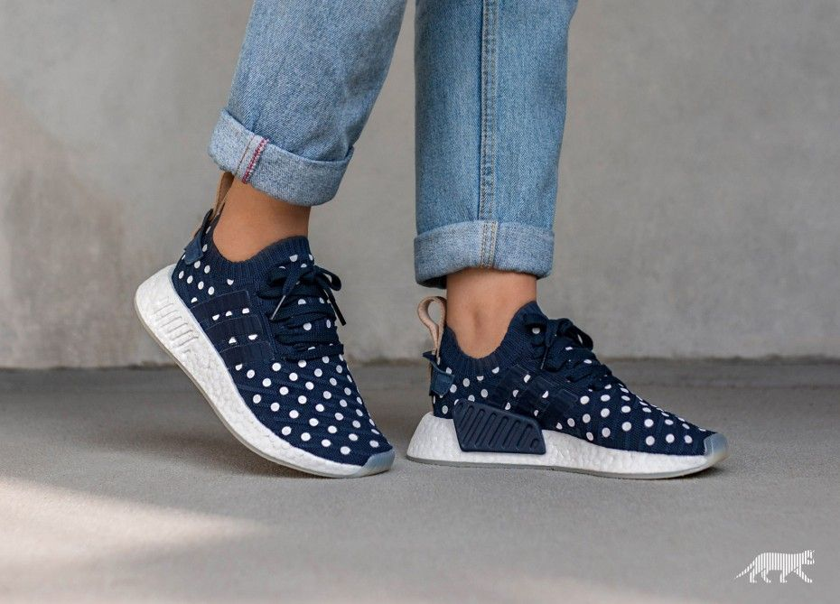 40ebd0d9e5ed Coolest sneakers ever! adidas NMD R2 PK W (Collegiate Navy   Collegiate Navy    Ftwr White)