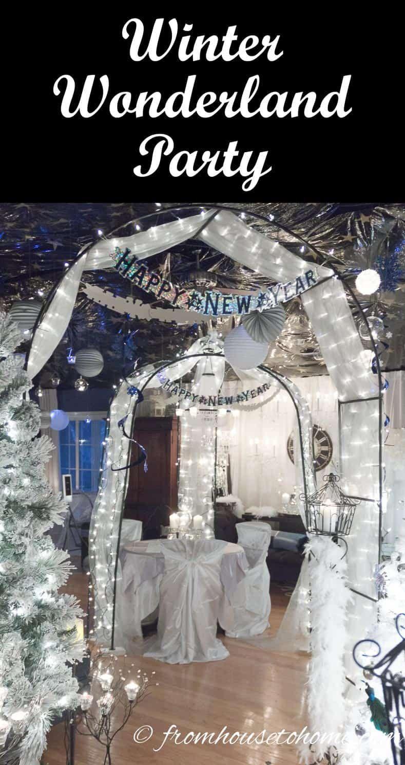 7 Elegant Winter Wonderland Party Ideas - Entertaining Diva