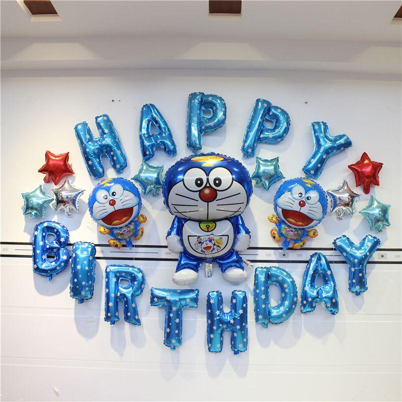 Kids Birthday Party Decoration Ideas Baby Shower Boy Doraemon