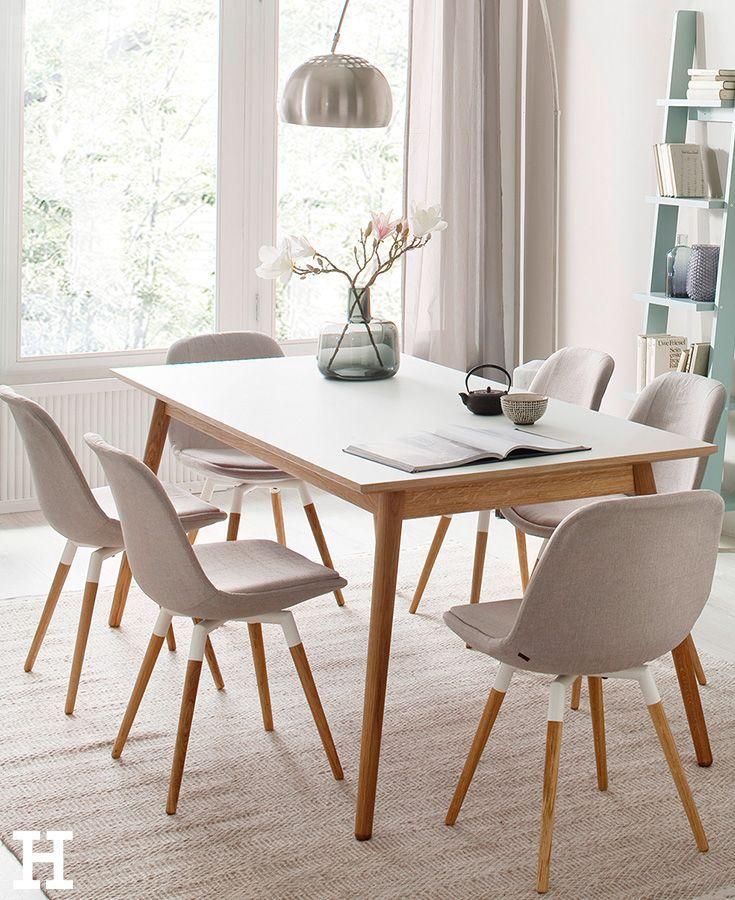 Roomers esstisch scan esszimmer wohnklamotte tisch for Tisch und stuhle esszimmer
