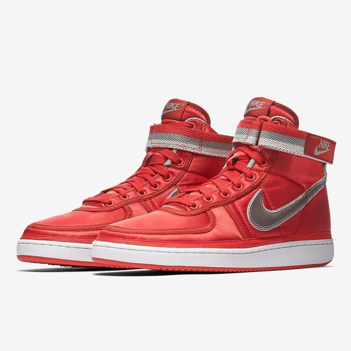 5a2dcfe1da2fcc Nike Vandal High Supreme QS UNIVERSITY RED METALLIC SILVER-WHITE (AH8652-002)