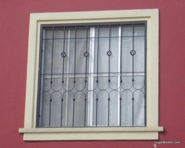 Fotografía de reja de ventana con diseño shabby chic y ...