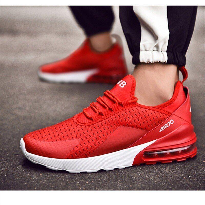 Beautiful Red Sneaker Hot New 270 Air